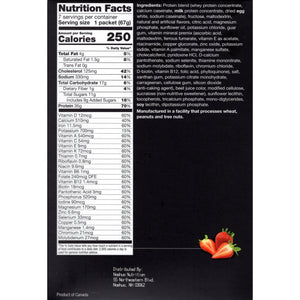 Proti-Thin Meal Replacement VHP - Strawberry - 7/Box - Nashua Nutrition
