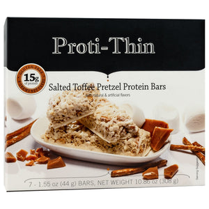 Proti-Thin Salted Toffee Pretzel Protein Bar