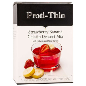 Proti-Thin Gelatin - Strawberry Banana - 7/Box-Nashua Nutrition