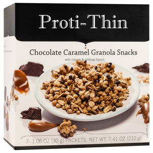 Proti-Thin Protein Granola - Chocolate & Caramel - 7/Box - Nashua Nutrition