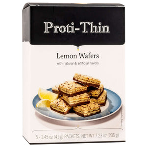 Proti-Thin Protein Wafer Squares Lemon, 5 Servings-Nashua Nutrition