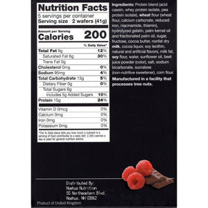 Proti-Thin Protein Wafer Squares Raspberry, 5 Servings-Nashua Nutrition