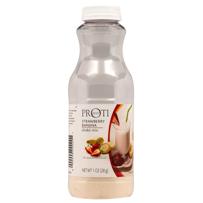Proti-Thin Proti Max Protein Shaker - Strawberry Banana Smoothie - 1 Bottle