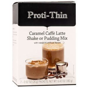 Proti-Thin Shake & Pudding - Caramel Cafe Latte - 7/Box-Nashua Nutrition
