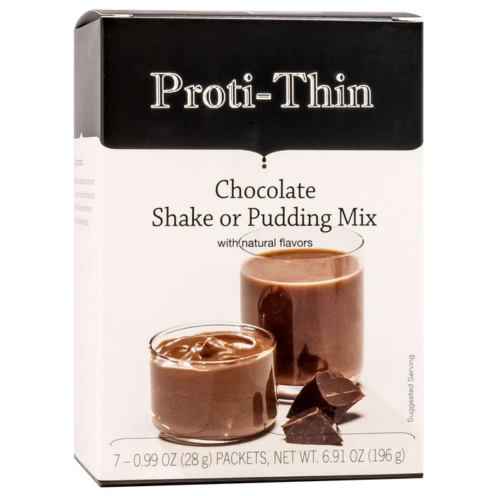 Proti-Thin Shake & Pudding - Chocolate - 7/Box