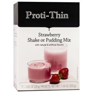 Proti-Thin Shake & Pudding - Strawberry - 7/Box-Nashua Nutrition