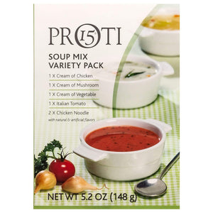 Proti-Thin Soup - Variety Pack - 6/Box-Nashua Nutrition
