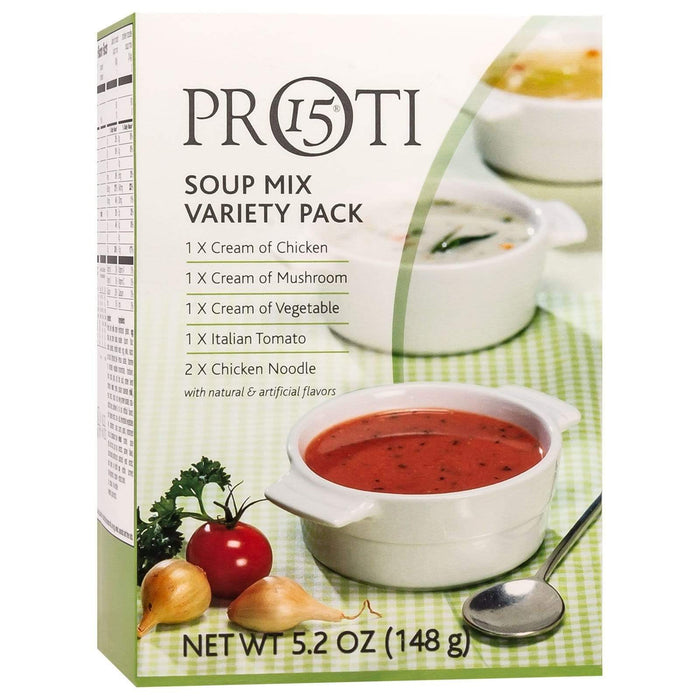 Proti-Thin Soup - Variety Pack - 6/Box