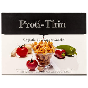 Proti-Thin Zipper Snacks - Chipotle BBQ - 7/Box-Nashua Nutrition