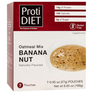 ProtiDiet Oatmeal - Banana Nut - 7/Box-Nashua Nutrition
