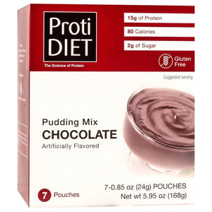 ProtiDiet Protein Pudding - Chocolate - 7/Box-Nashua Nutrition