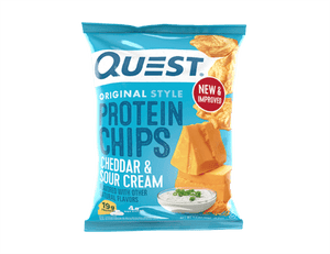Quest Nutrition Protein Chips - Cheddar & Sour Cream - 1 Bag - Nashua Nutrition