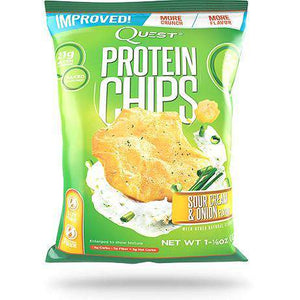 Quest Nutrition Protein Chips - Sour Cream & Onion - 1 Bag-Nashua Nutrition