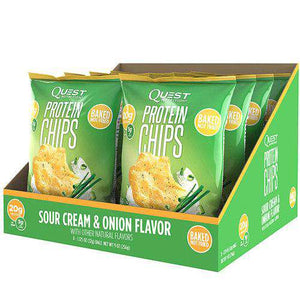 Quest Nutrition Protein Chips - Sour Cream & Onion - 8/Box-Nashua Nutrition