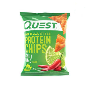 Quest Nutrition - Tortilla Protein Chips - Chili Lime - 1 Bag-Nashua Nutrition