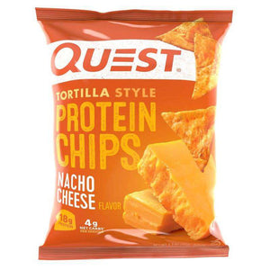 Quest Nutrition - Tortilla Protein Chips - Nacho Cheese - 1 Bag-Nashua Nutrition