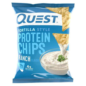 Quest Nutrition - Tortilla Protein Chips - Ranch - 1 Bag - Nashua Nutrition