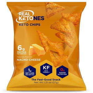 Real Ketones - Keto Chips - Spicy Nacho - 1 Bag - Nashua Nutrition