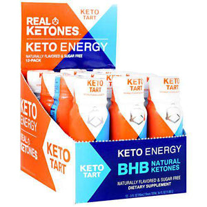 Real Ketones - Keto Energy Shots - Keto Tart - Cherry Limeade - 12 Pack - Nashua Nutrition