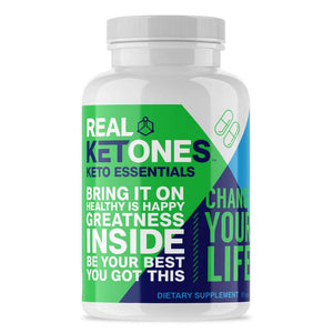 Real Ketones - KETO ESSENTIALS - 30 Servings - 90 Capsules - Nashua Nutrition