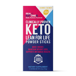 Real Ketones - PRIME D+ - Lemon Twist - Keto BHB/MCT Formula - 10 Servings - Nashua Nutrition