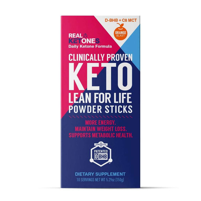 Real Ketones - PRIME D+ - Orange Blast - Keto BHB/MCT Formula - 10 Servings