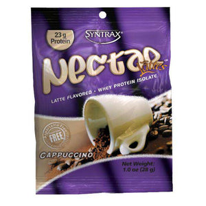 Syntrax - Nectar Protein Powder - Cappuccino - Single Serving-Nashua Nutrition