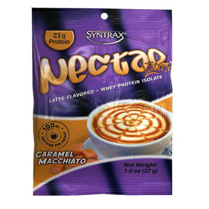 Syntrax - Nectar Protein Powder - Caramel Macchiato - Single Serving-Nashua Nutrition