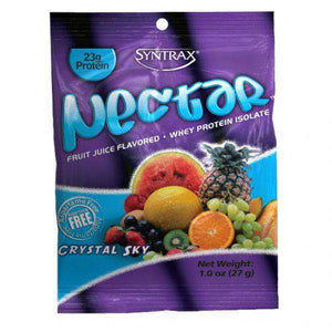 Syntrax - Nectar Protein Powder - Crystal Sky - Single Serving - Nashua Nutrition