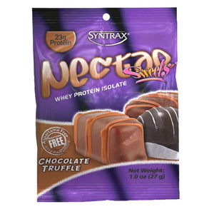 Syntrax - Nectar Protein Powder - Grab N Go - Chocolate Truffle - 12 Individual Servings - Nashua Nutrition