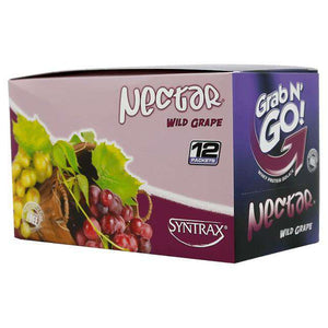 Syntrax - Nectar Protein Powder - Grab N Go - Wild Grape - 12 Individual Servings-Nashua Nutrition