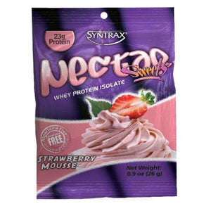 Syntrax - Nectar Protein Powder - Strawberry Mousse - Single Serving-Nashua Nutrition