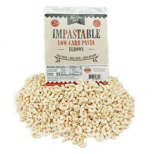 ThinSlim Foods - Impastable Low Carb Pasta - Elbows - 4 Servings-Nashua Nutrition