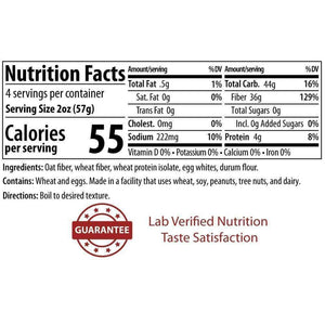 ThinSlim Foods - Impastable Low Carb Pasta - Fettuccine - 4 Servings-Nashua Nutrition
