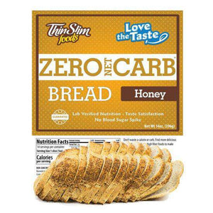 ThinSlim Foods - Love-The-Taste Bread - Honey - 14 Servings-Nashua Nutrition