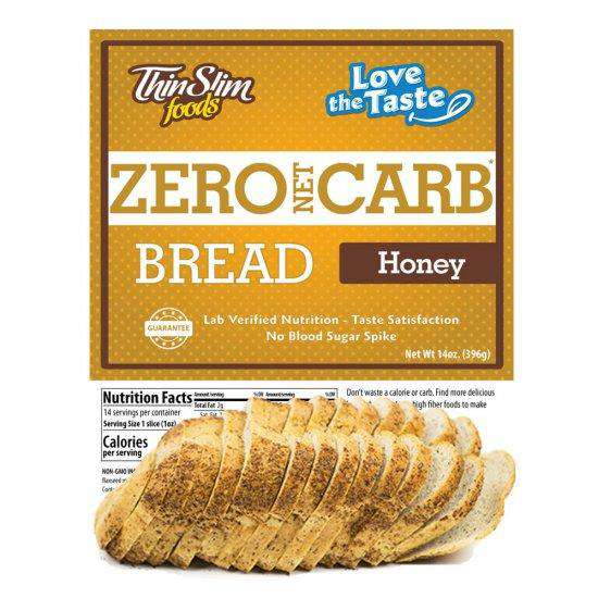 ThinSlim Foods - Love-The-Taste Bread - Honey - 14 Servings