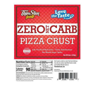 ThinSlim Foods - Love-The-Taste Pizza Crust - 4 Servings-Nashua Nutrition