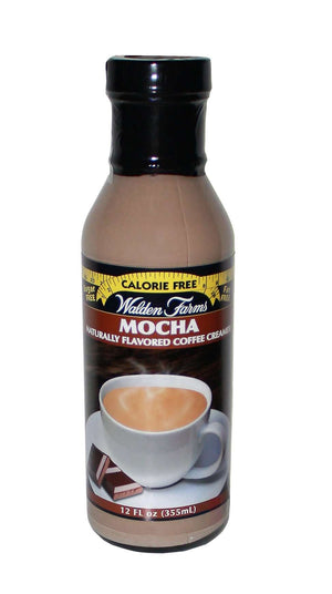 Walden Farms Coffee Creamer - Mocha (1 Bottle)-Nashua Nutrition