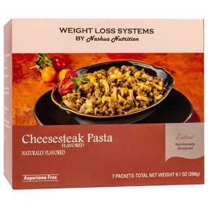 Weight Loss Systems Entree - Cheesesteak Pasta (7/Box)-Nashua Nutrition