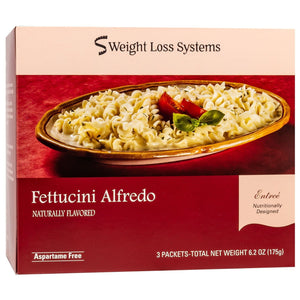 Weight Loss Systems Entree - Fettuccini Alfredo - 3/Box - Nashua Nutrition