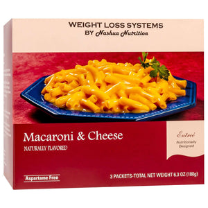 Weight Loss Systems Entree - Macaroni & Cheese - 3/Box-Nashua Nutrition