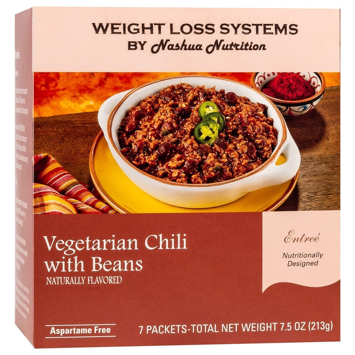 Weight Loss Systems Entree - Vegetarian Chili with Beans (7/Box)