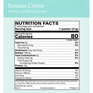 Weight Loss Systems Pudding - Banana Creme - 7/Box-Nashua Nutrition
