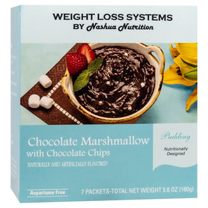 Weight Loss Systems Pudding - Chocolate Marshmallow with Chocolate Chips - 7/Box-Nashua Nutrition