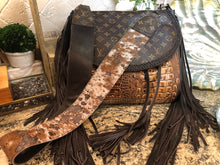 LV croc fringe bag-large