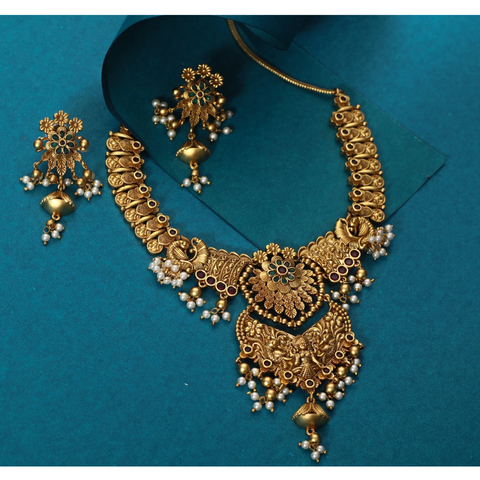 Kenza Antique Necklace Set