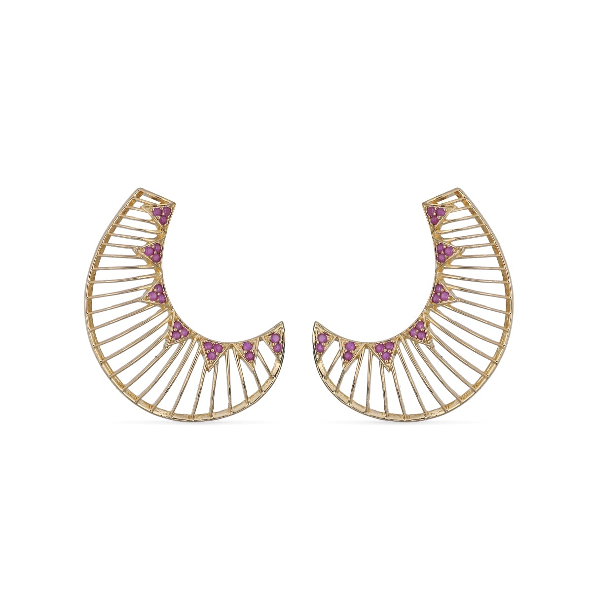 Aahna Nakshatra CZ Earrings