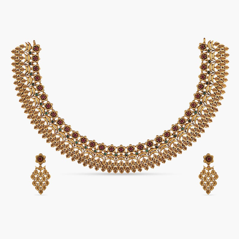 Geeti Antique Necklace Set