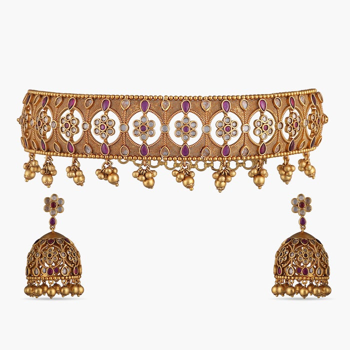 Palash Antique Choker Set