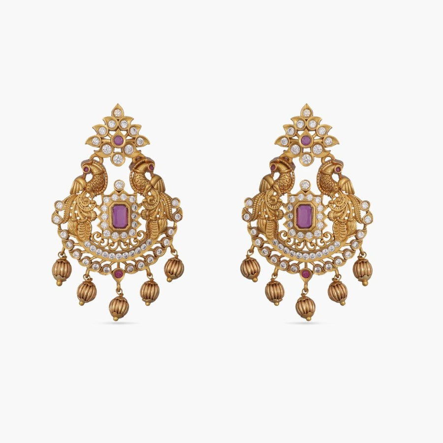 Radha Antique Earrings by Tarinika
